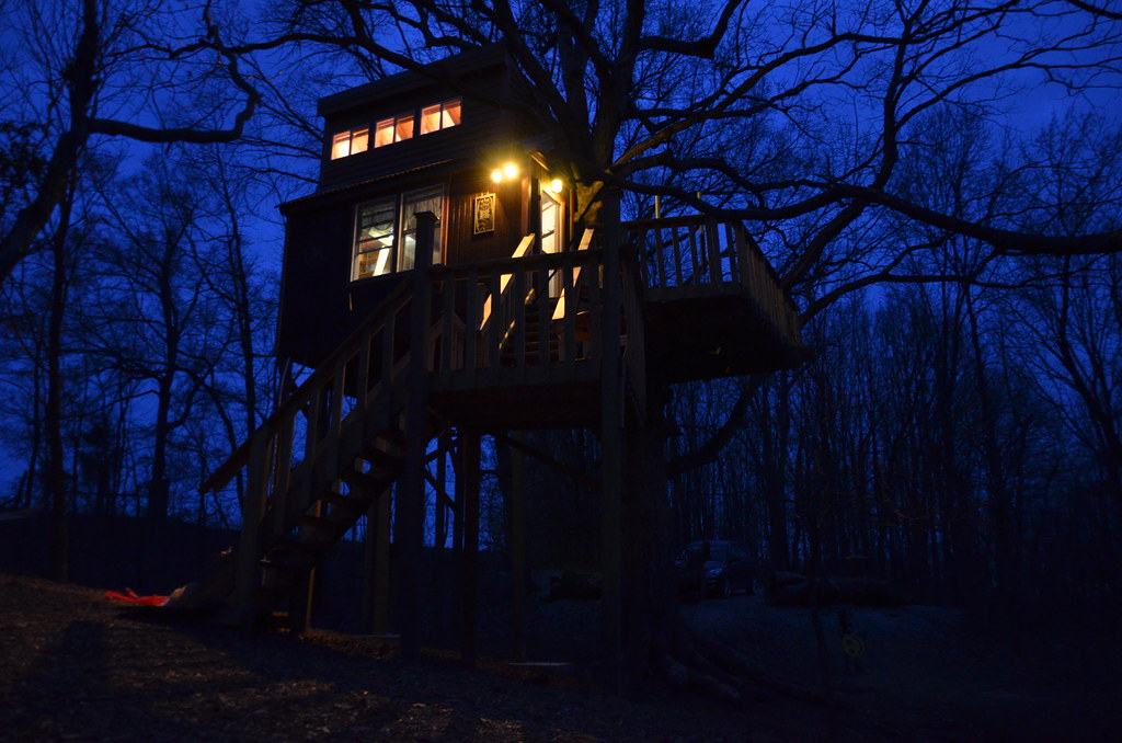 Southern Illinois Cabin Tree House Timber Ridge Outpost Flickr