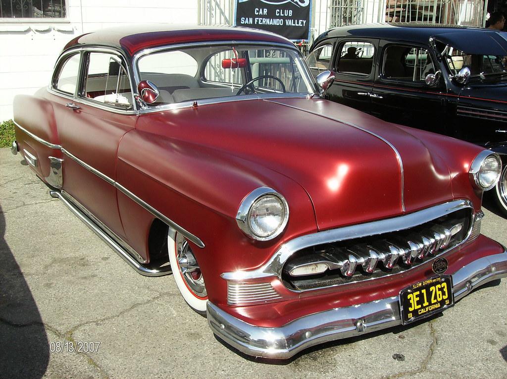 Jay\'s \'53 Chevy old school ride Dukes C.C. | Dukes C.C.(S.F.… | Flickr