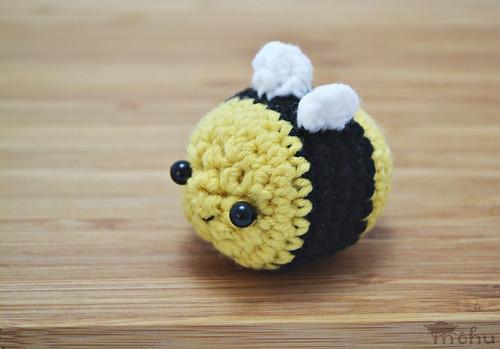 Kawaii Amigurumi Bee : Kawaii bee amigurumi A little crocheted bee amigurumi ...