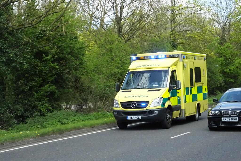 Secamb South East Coast Ambulance Service 2011 Mercedes