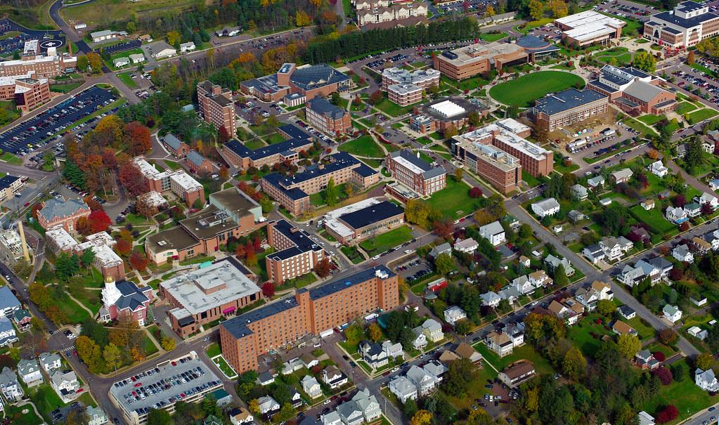 Bloomsburg University Aerial View Of Bloomsburg