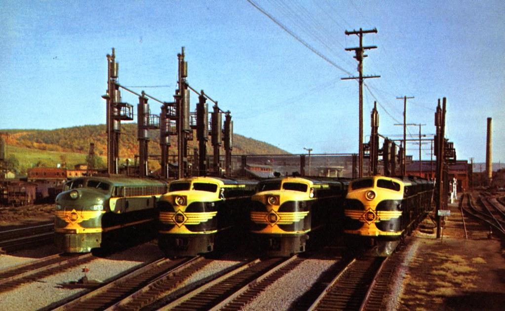 Modern Four Horsemen Erie Railroad Shop Hornell Ny Flickr
