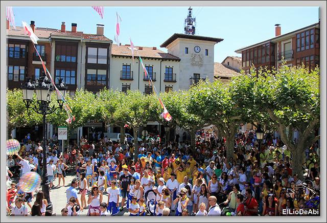 Briviesca Fiestas 2016 Bajada de las blusas  (4)