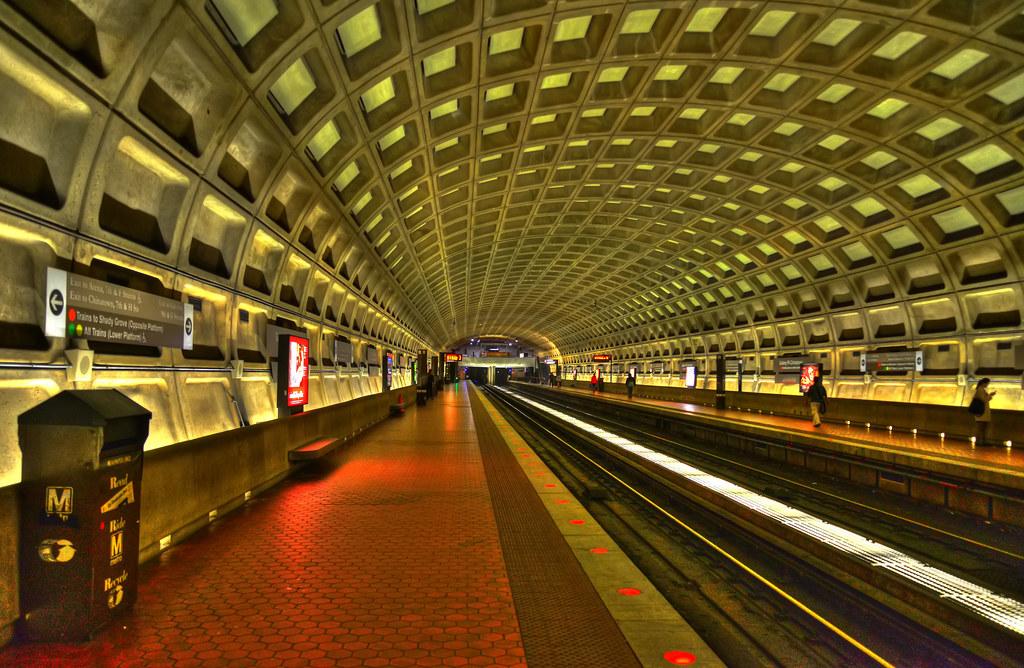 gallery place metro station   washington  dc