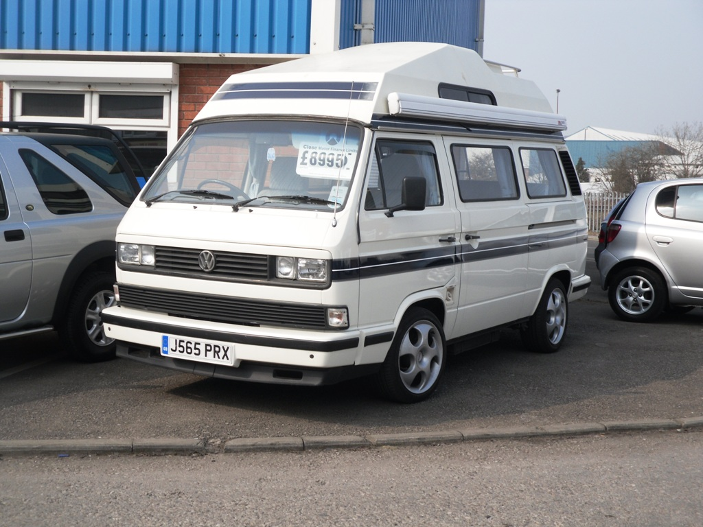 1991 Volkswagen Type 2 T3 Camper Van J565 Prx This