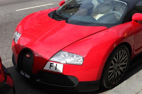 bugatti veyron one million pound car parked on the street flickr. Black Bedroom Furniture Sets. Home Design Ideas