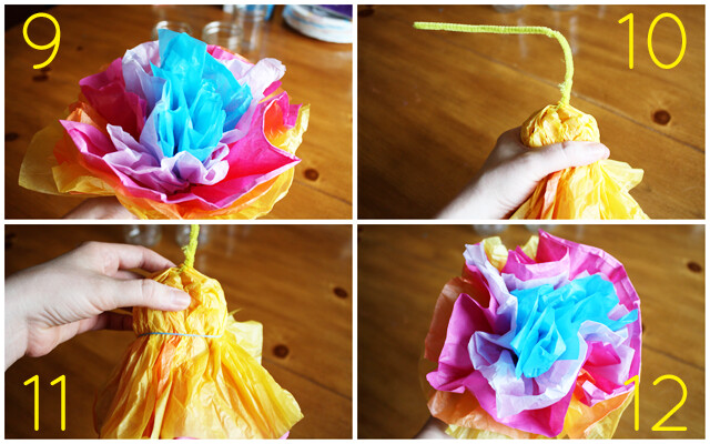 Mexican Tissue Paper Flowers 2 Luluthebaker Flickr