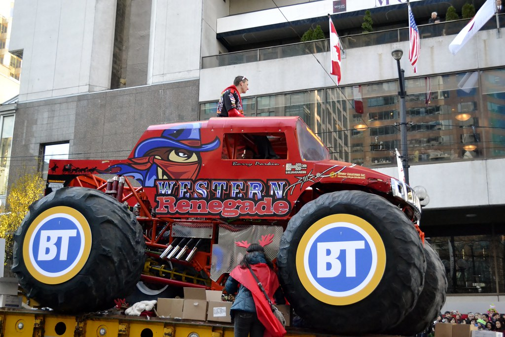 Western Renegade Hummer H2 Monster Truck With O O Barry
