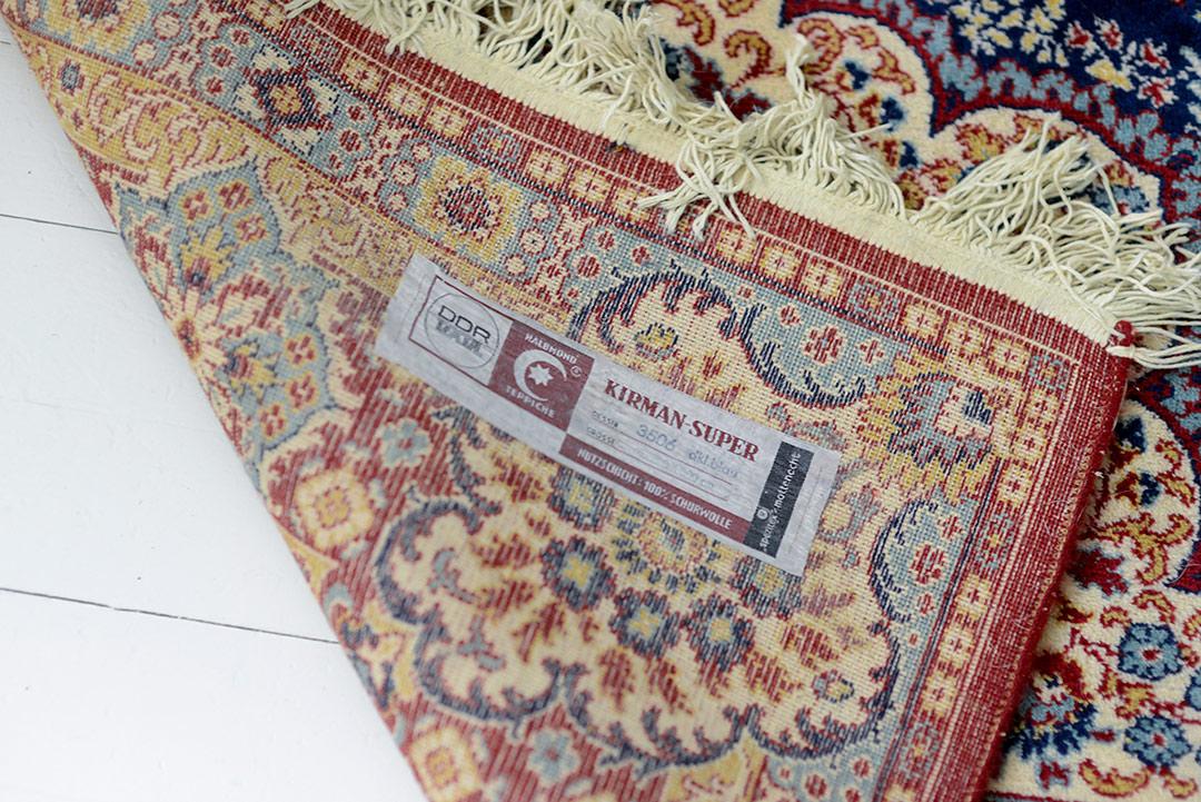Vintage Kirman rug from DDR