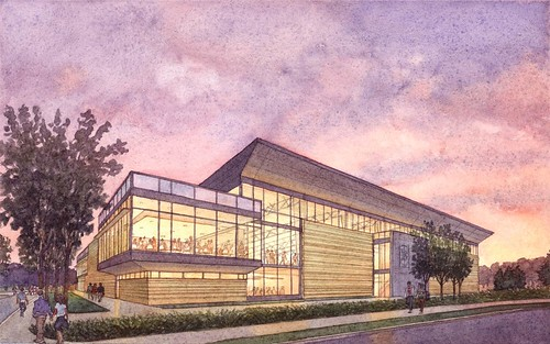Bentley Arena Renderings