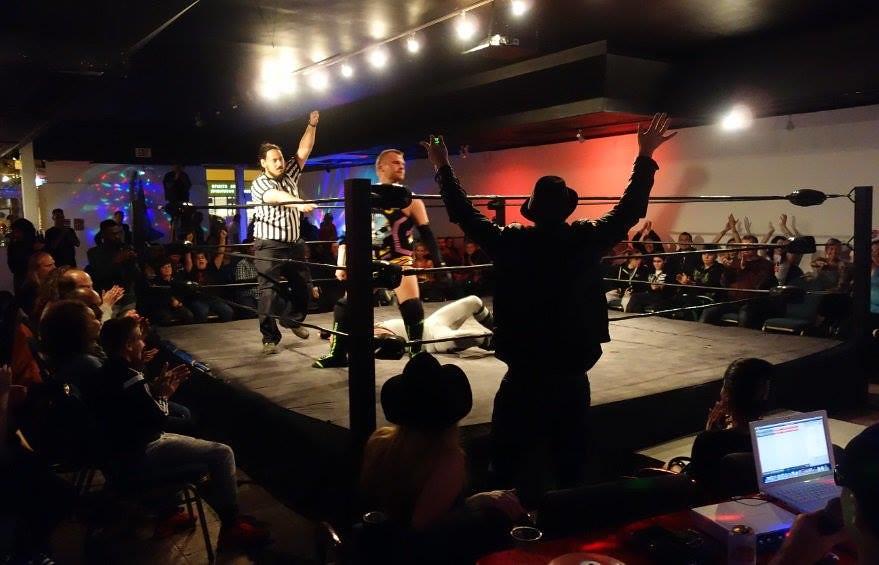 Live wrestling in Toronto