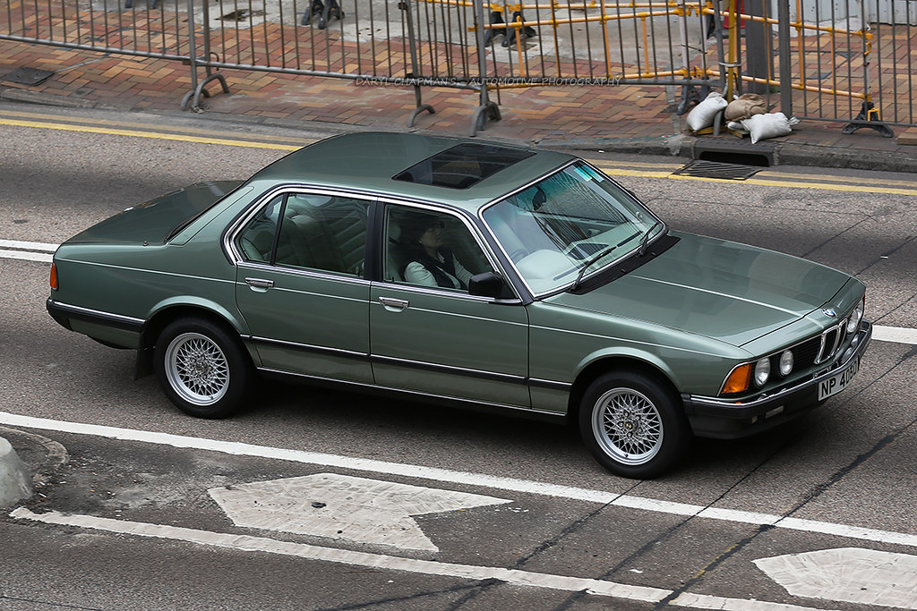 BMW, E23, 745i, Admiralty, Hong Kong | Not a BMW you see ...