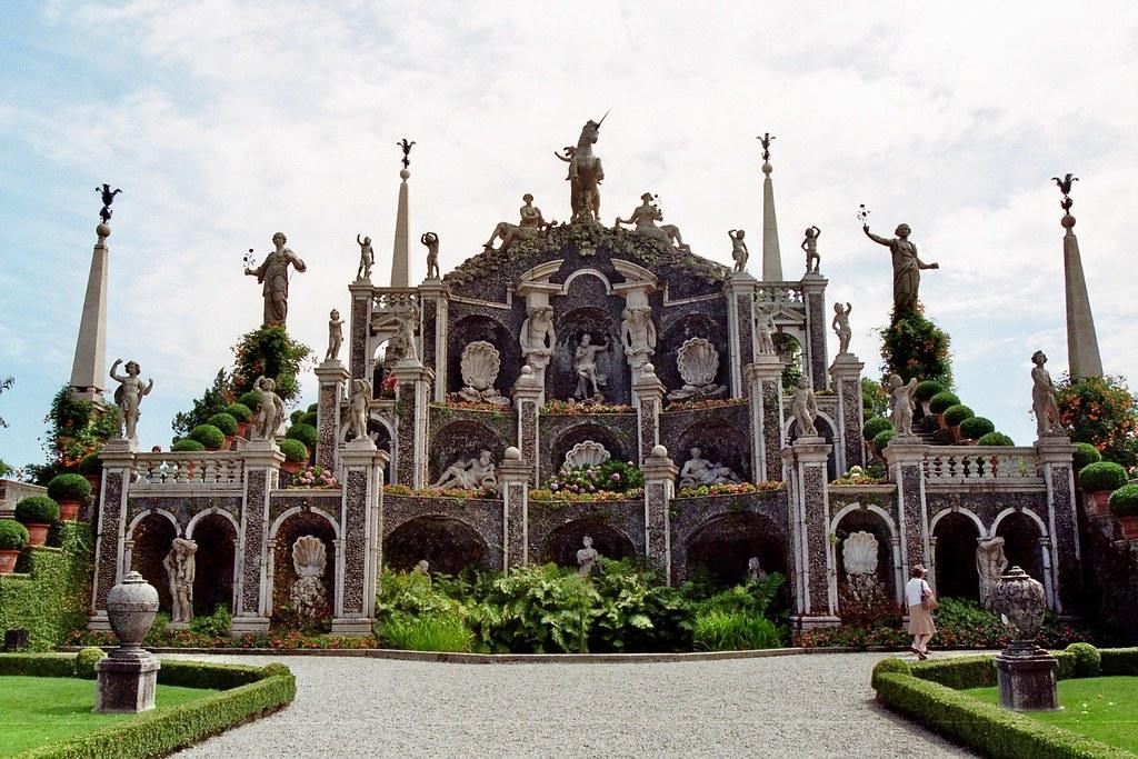 Jardin du palais borrom e isola bella les borrom es st - Jardin d italie chateauroux ...