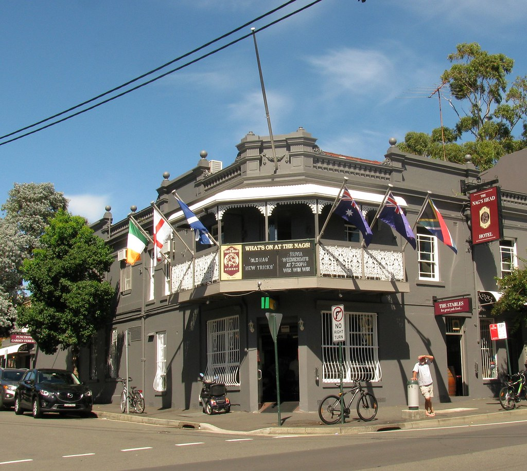 The Nags Head Hotel Glebe Sydney Nsw 162 St Johns Rd Flickr