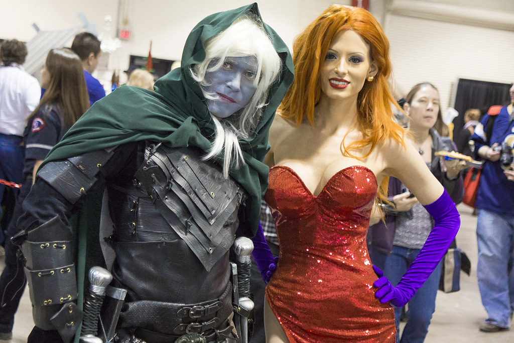 2013 ccee jessica rabbit drizzt do urden i m like who
