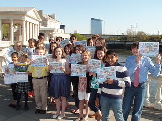 Green City, Clean Waters Art Contest: Group Portrait of Winners
