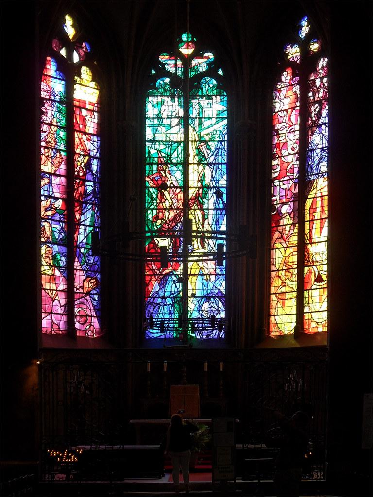 Vitraux Metz metz - vitraux de jacques villon (1957) | cathédrale saint-É… | flickr