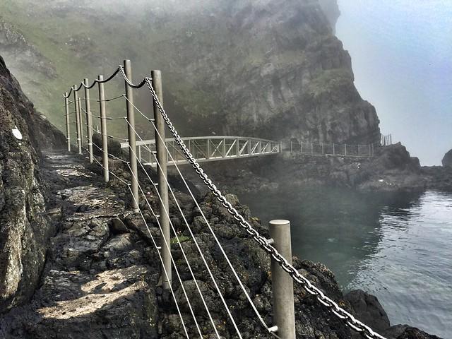 El sendero de los Gobbins en Irlanda del Norte