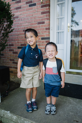 Oliver's 1st Day of School