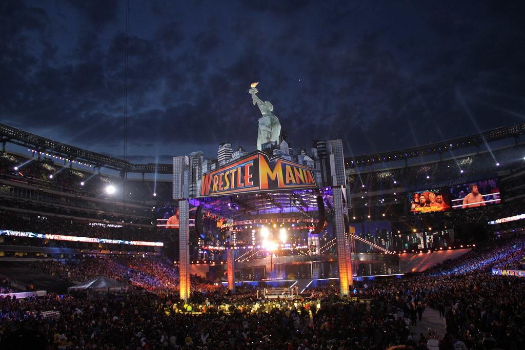 WrestleMania 29 Stage   Pictures of the stage at MetLife ... Wrestlemania 29 Stage
