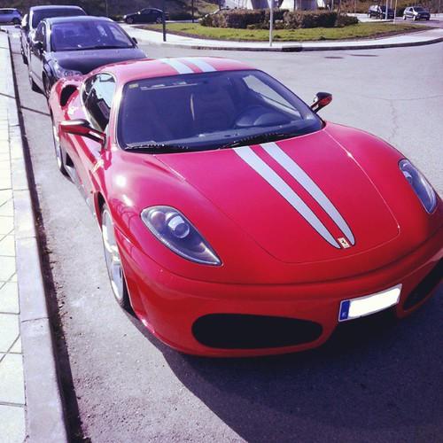 Cenário 3d Ferrari F430 Modelo 3d: Ferrari F430 #Ferrari #scuderia #F430