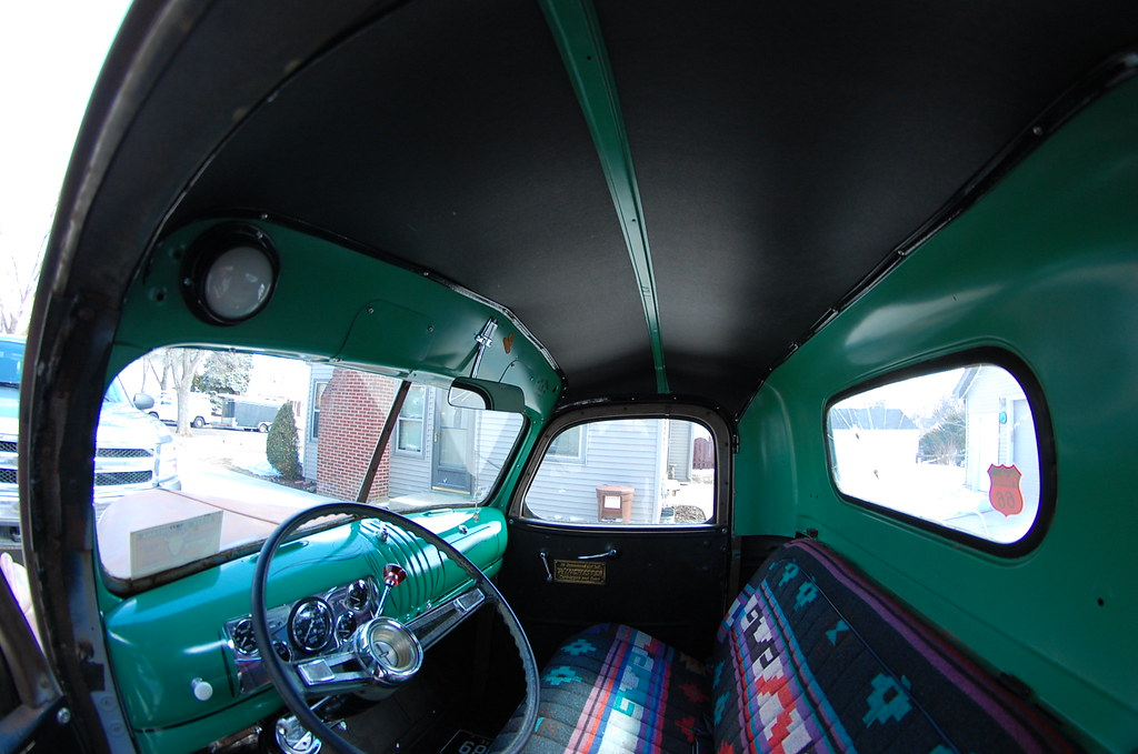 1946 Chevy Truck Interior Ok This Weekend We Sound