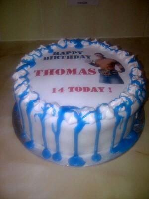 John Cena Birthday Cake Topper This fabulous photo has bee Flickr