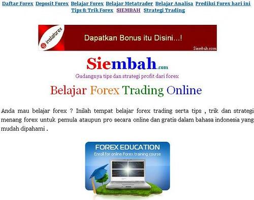 Belajar forex gratis pemula