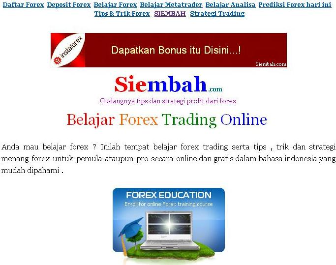 Video belajar forex gratis