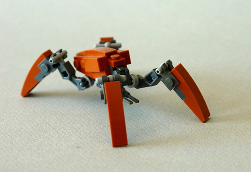 Generic droid inspired by the crab droid in star wars but flickr - Lego star wars base droide ...