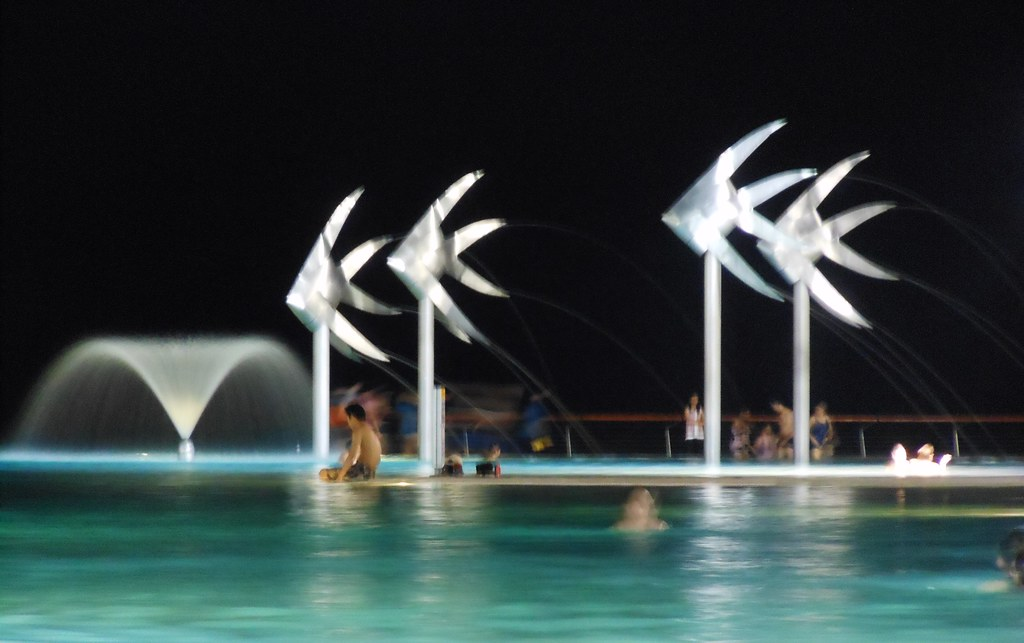 Cairns Lagoon by Night