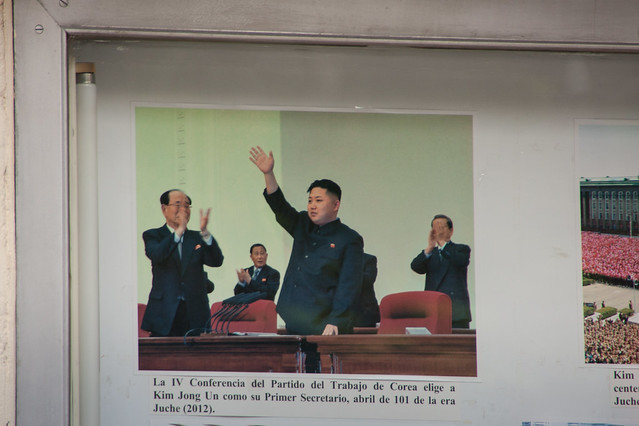 Kim Jong Un (North Korean Ambassy in Havana)