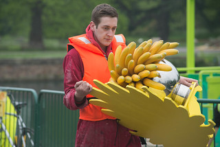 Installation of the Tutti Frutti boating experience | by Kew on Flickr