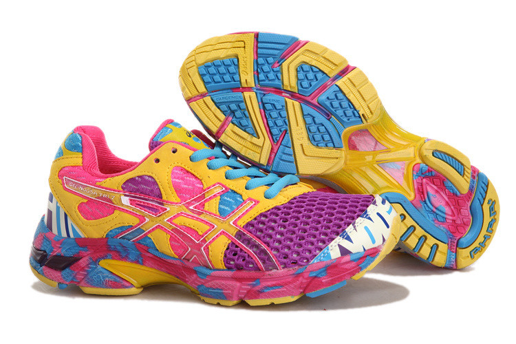 differently a1d4e a9c0f ... Asics Gel Noosa TRI 7 Mens Running Shoe PUrple Yellow   by  asicsgelrunning.com