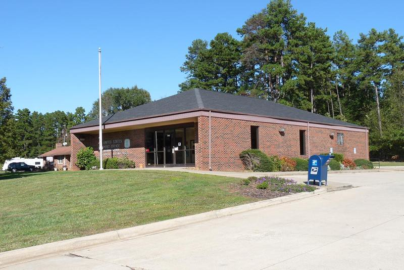 Sherrills Ford Nc Post Office Catawba County Photo By