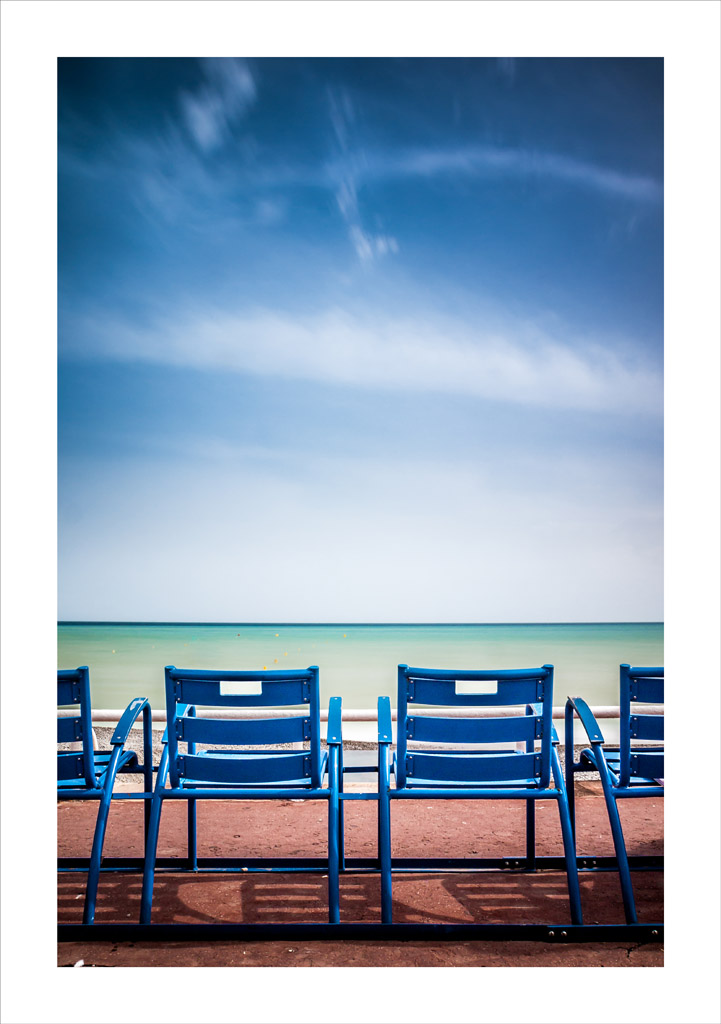les chaises bleues promenade des anglais nice french r jean paul mission flickr. Black Bedroom Furniture Sets. Home Design Ideas