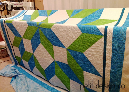 Carpenter's Star - quilted | by Petit Design Co.