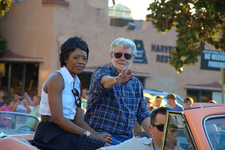 George Lucas Grand Marshall 2013 Modesto American Graffiti Car Show and Festival parade | by hharryus