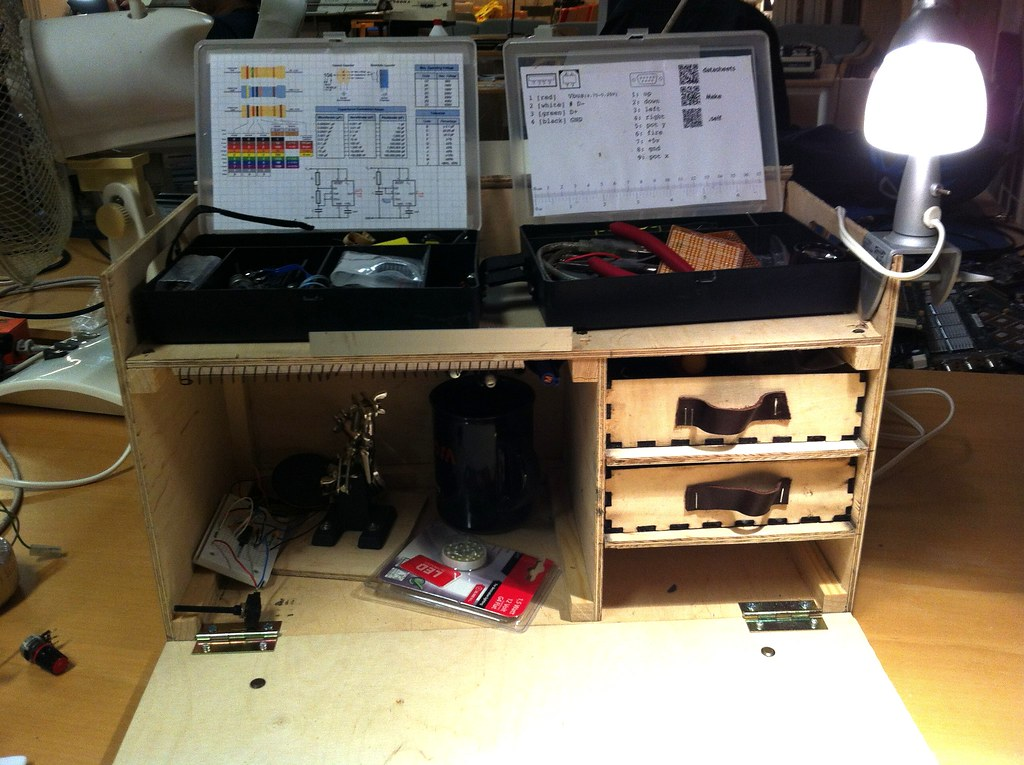 Quick Setup Electronics Workbench I Ve Made This Small