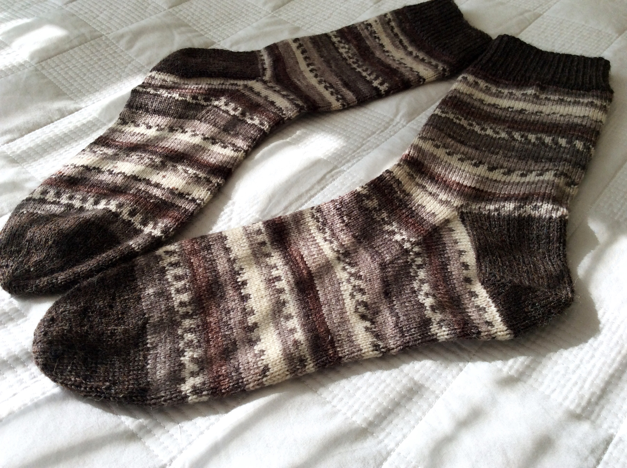 Soft Chocolate Socks