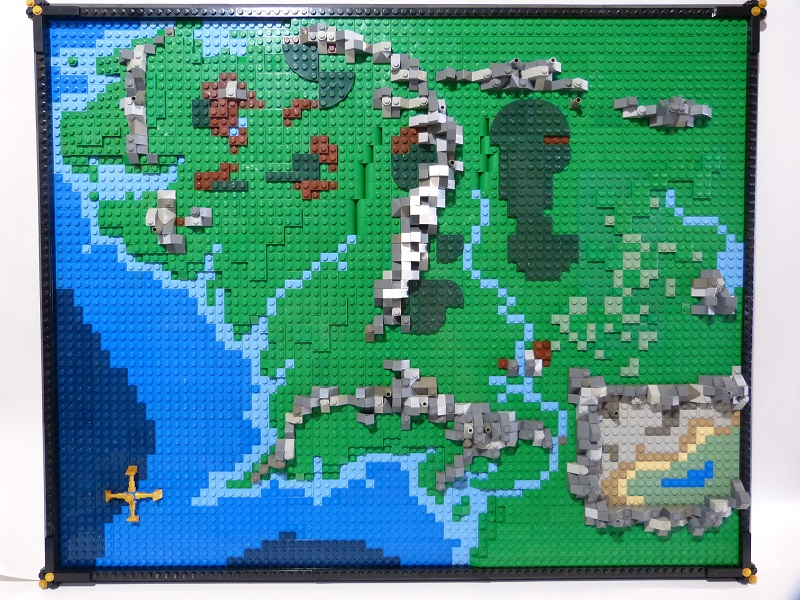 Middle Earth  A quasimosaic map of Middle Earth A bit 2D   Flickr