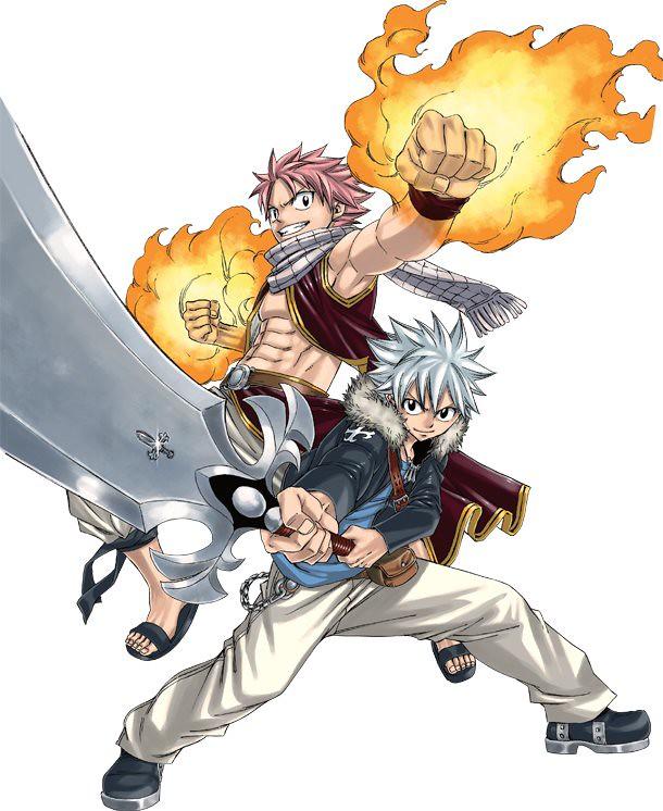 130418(3) - 『魔導少年×聖石小子』奇蹟共演登上動畫版!《FAIRY TAIL》最新OVA將在8/16發售!