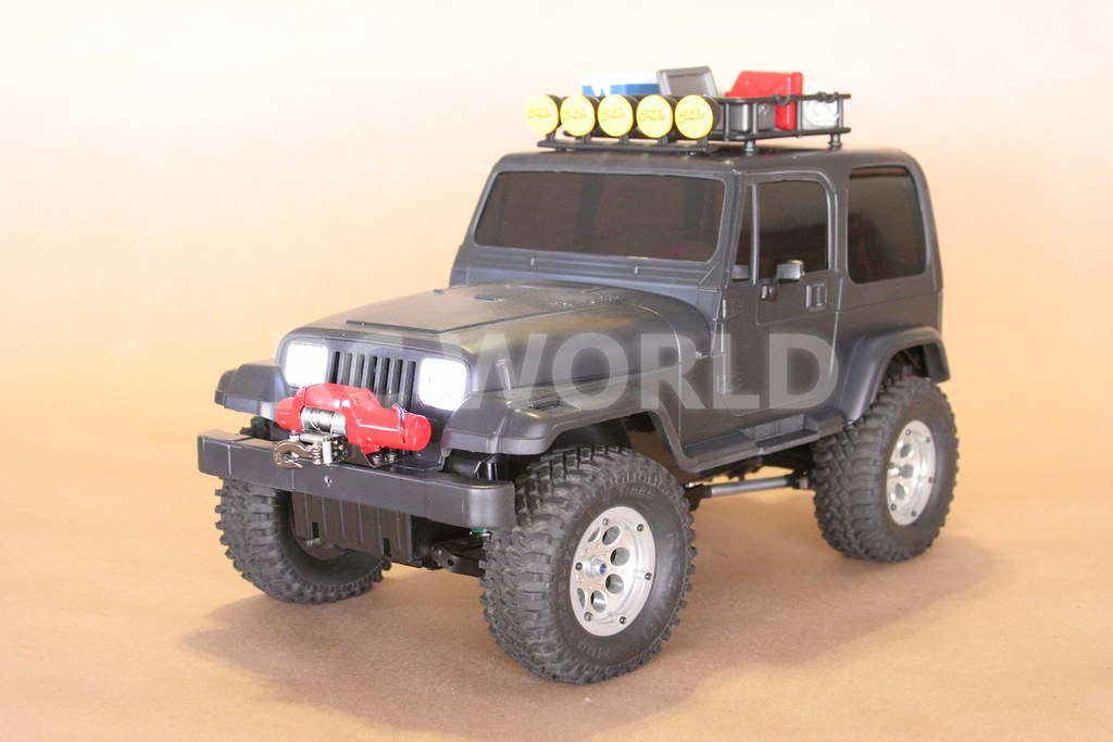 tamiya radio control rc jeep wrangler 4x4 black tamiya rad flickr. Black Bedroom Furniture Sets. Home Design Ideas
