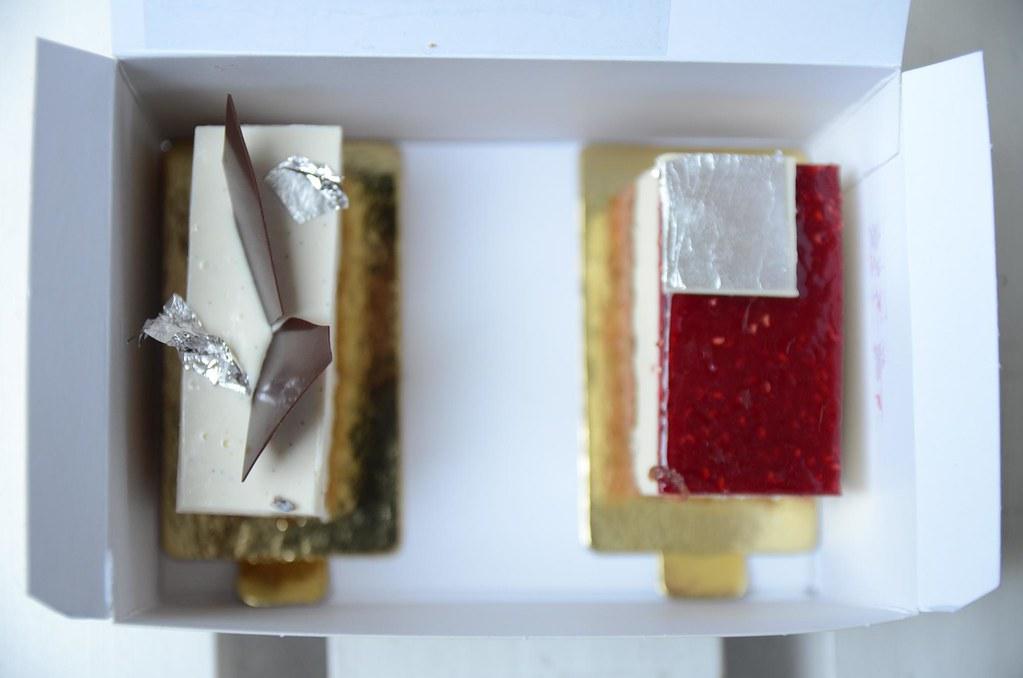 Petit Cheese Cake Au Litchi Et  Ef Bf Bd La Rose
