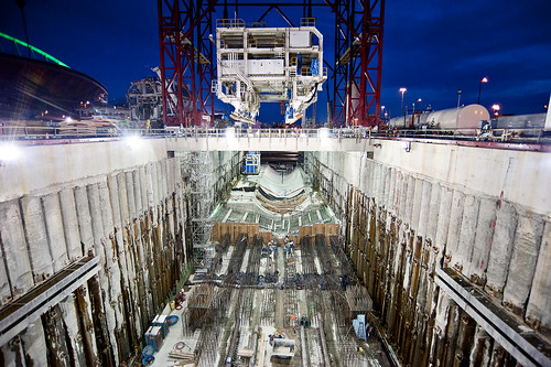 A night out for Bertha | by WSDOT