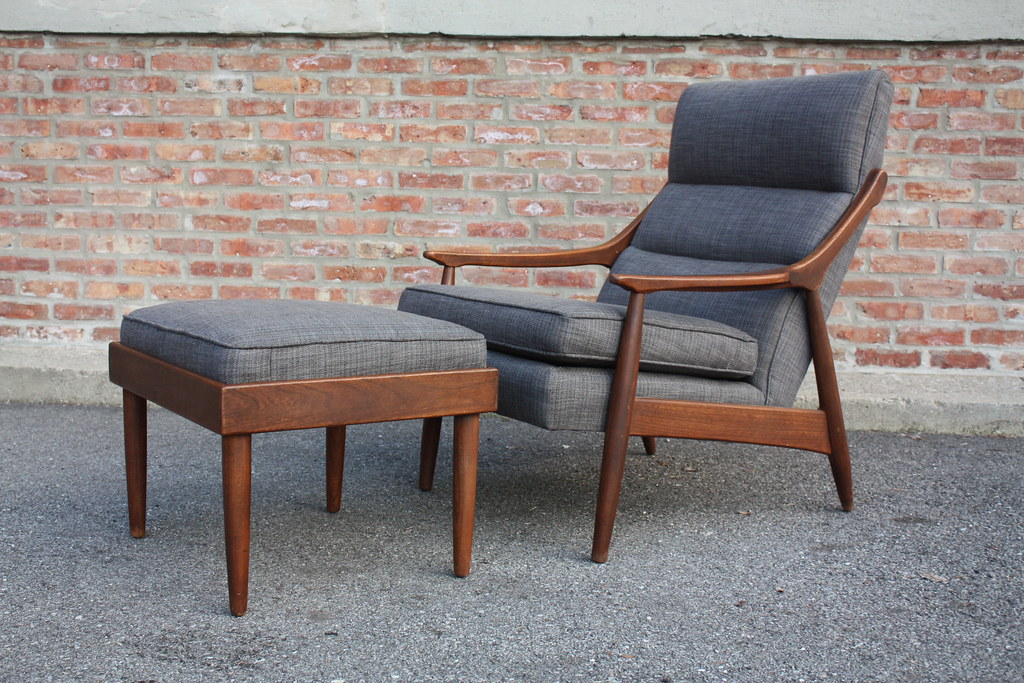 Charmant ... Perfect Mid Century Modern Lounge Chair U0026 Ottoman (U.S.A., 1960s) | By  Kennyk