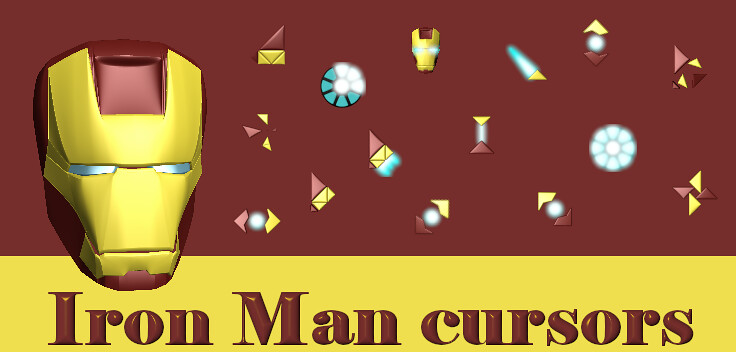 Iron Man Cursors | My new cursor set inspired by Iron Man ...
