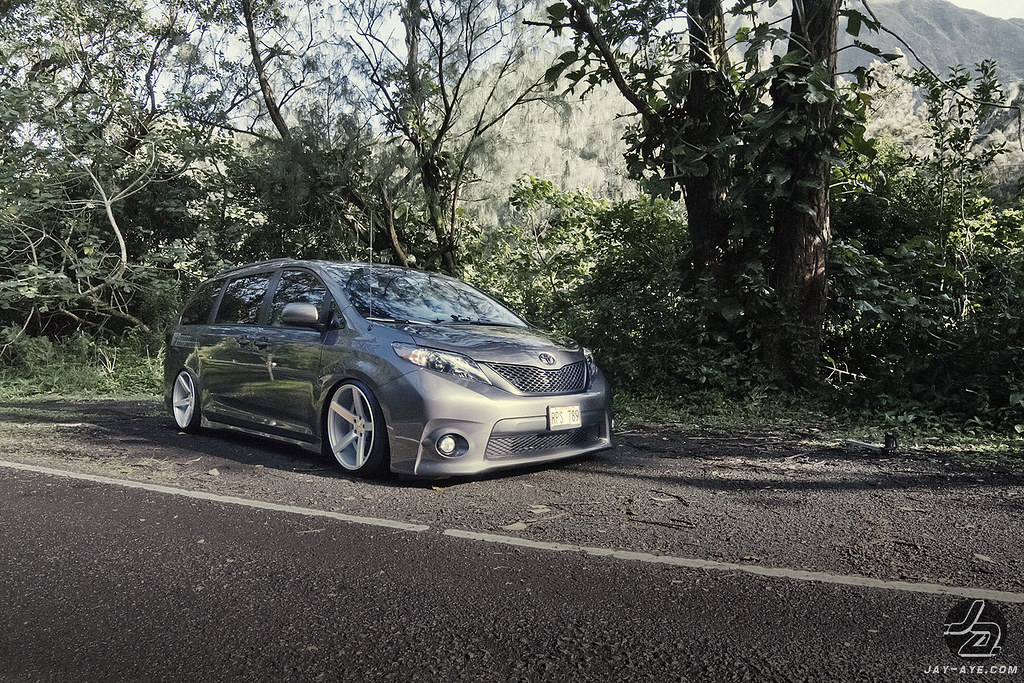 Auto Customs Toyota Sienna Vossen Cv3 Mprsv Flickr
