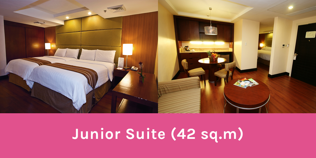 Junior Suite Crown Regency Hotel and Towers - Wandering Ella