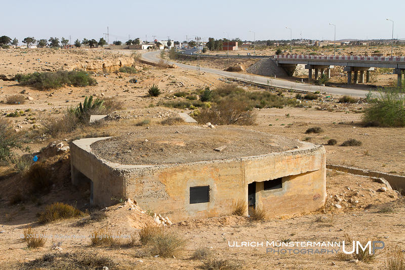 Bunkers Of The Mareth Line Gabes Tunisia Mus 233 E